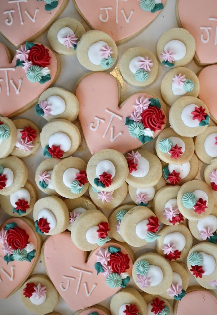 Heart and Thumbprint Cookies   3 Sweet Girls Cakery