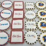 Logo Cookies for P & G
