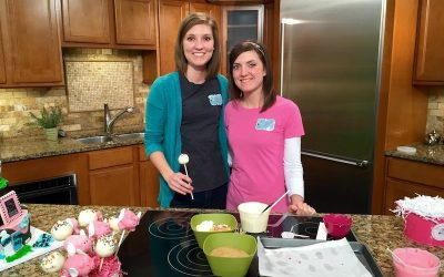 Flying Pig Cake Pop Demo on Fox 19