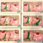Flying Pig Christmas Cookie Sets