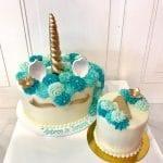 Unicorn Cake with Smash Cake