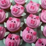 Flying Pig Cupcakes