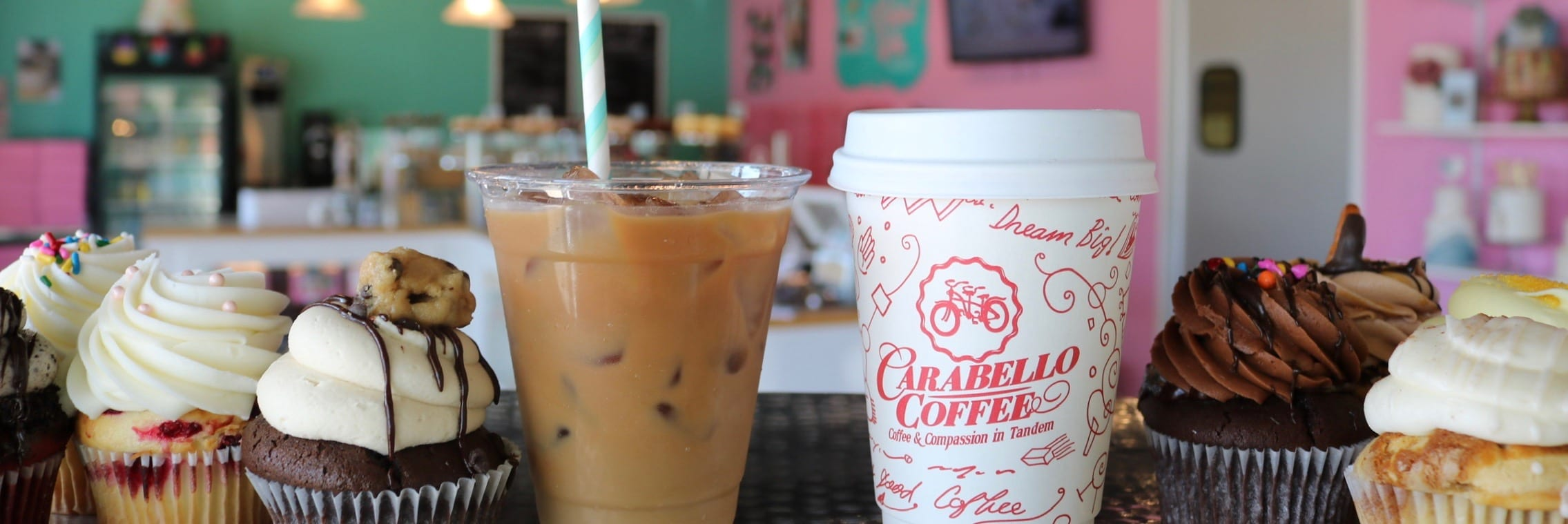 Carabello Coffee at 3 Sweet Girls Cakery