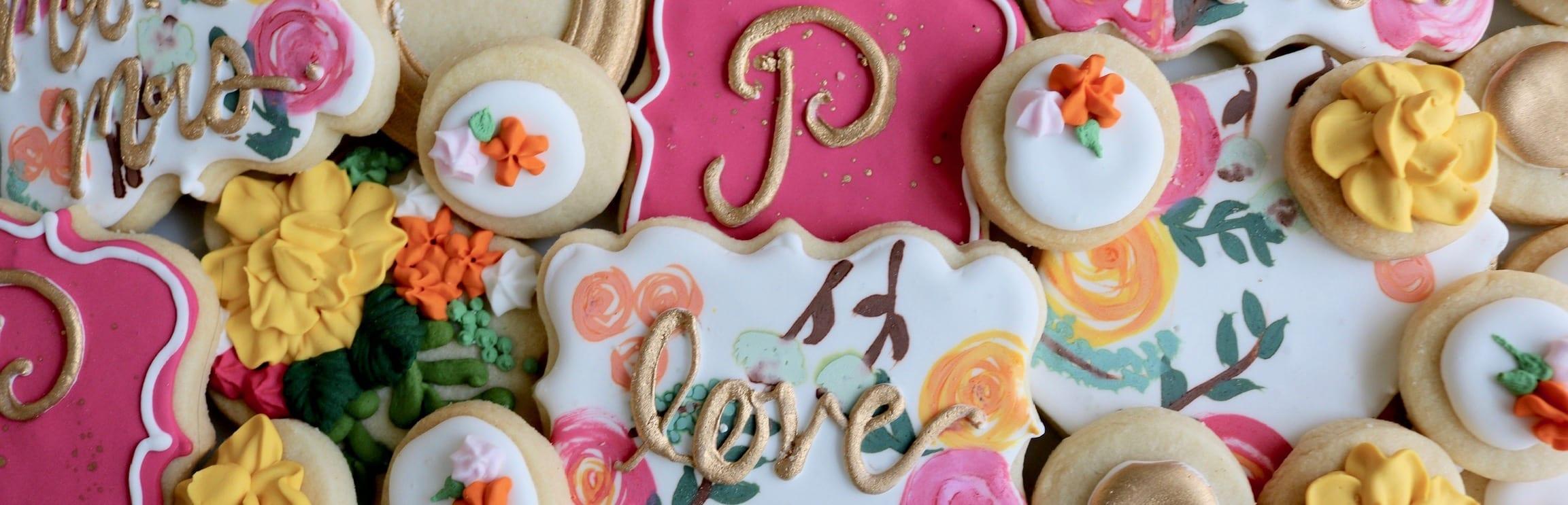 Wedding Cookie Banner