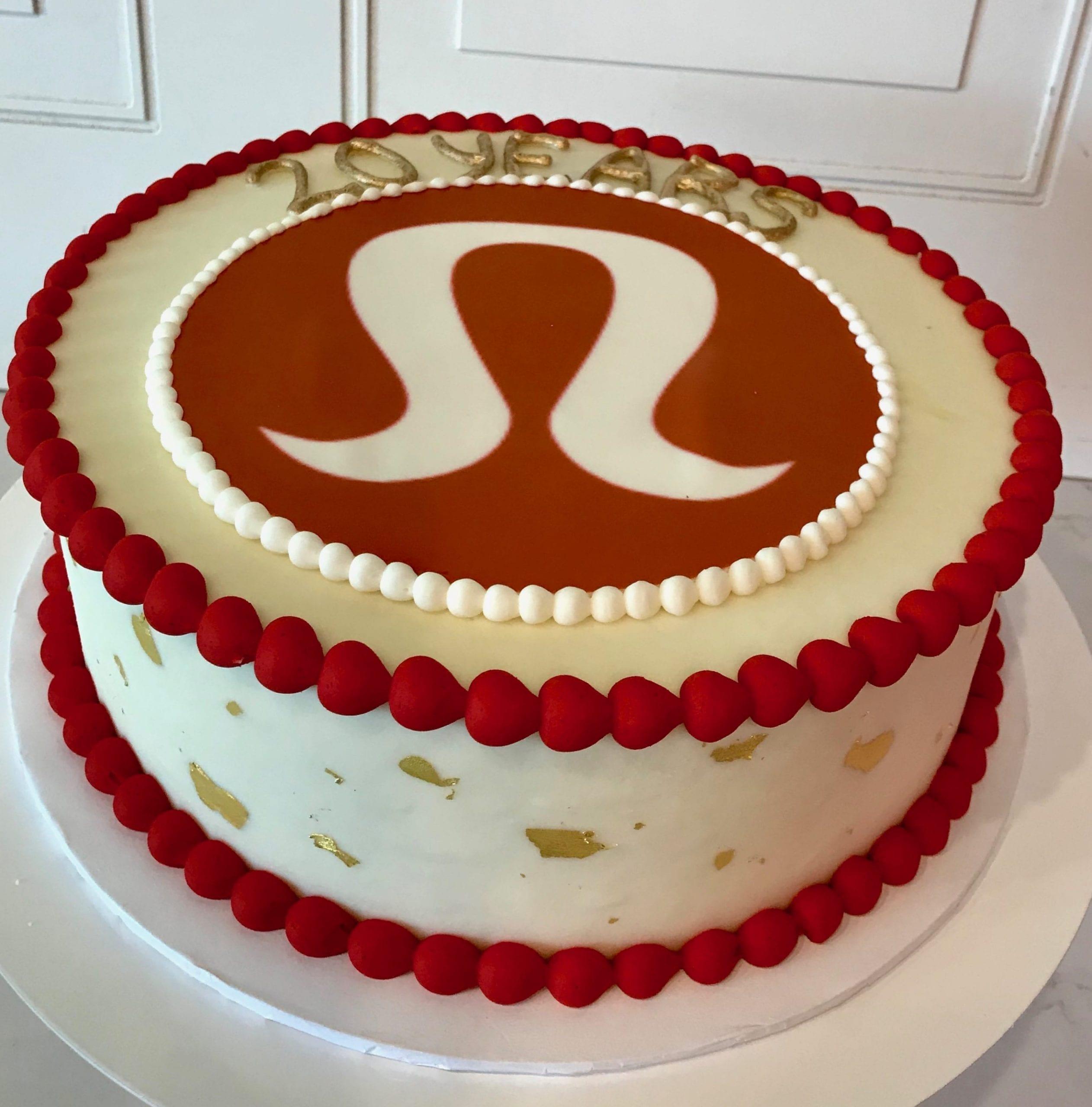 Lululemon Cake   3 Sweet Girls Cakery