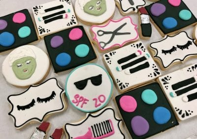 Cosmetic Cookies for Krogers Beauty Division | 3 Sweet Girls Cakery