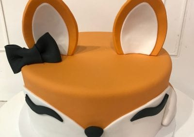 Fox Cake | 3 Sweet Girls Cakery