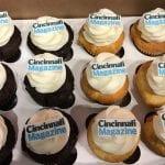 Cincinnati Magazine Logo Cupcakes