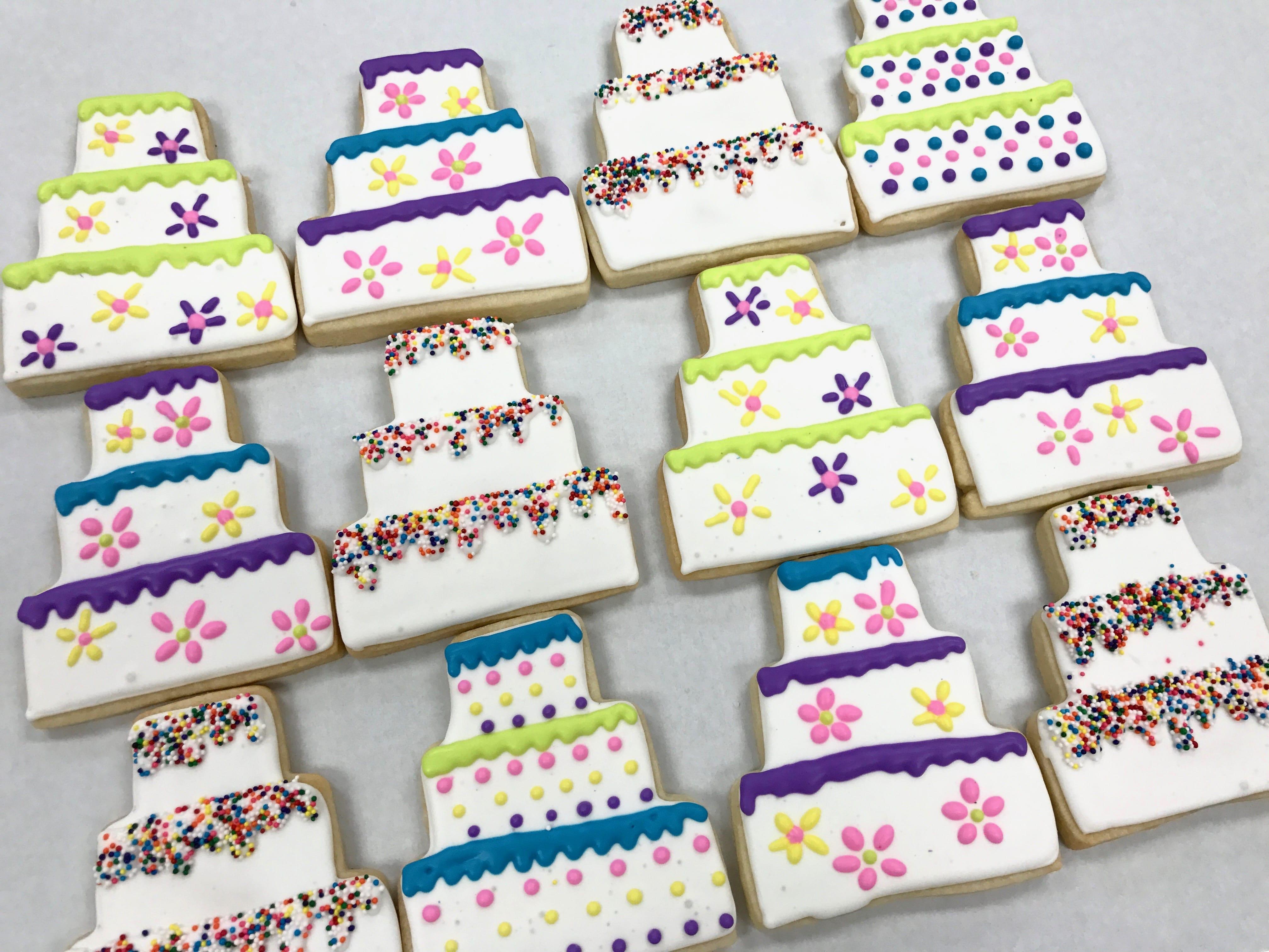 Cake Cookies   3 Sweet Girls Cakery