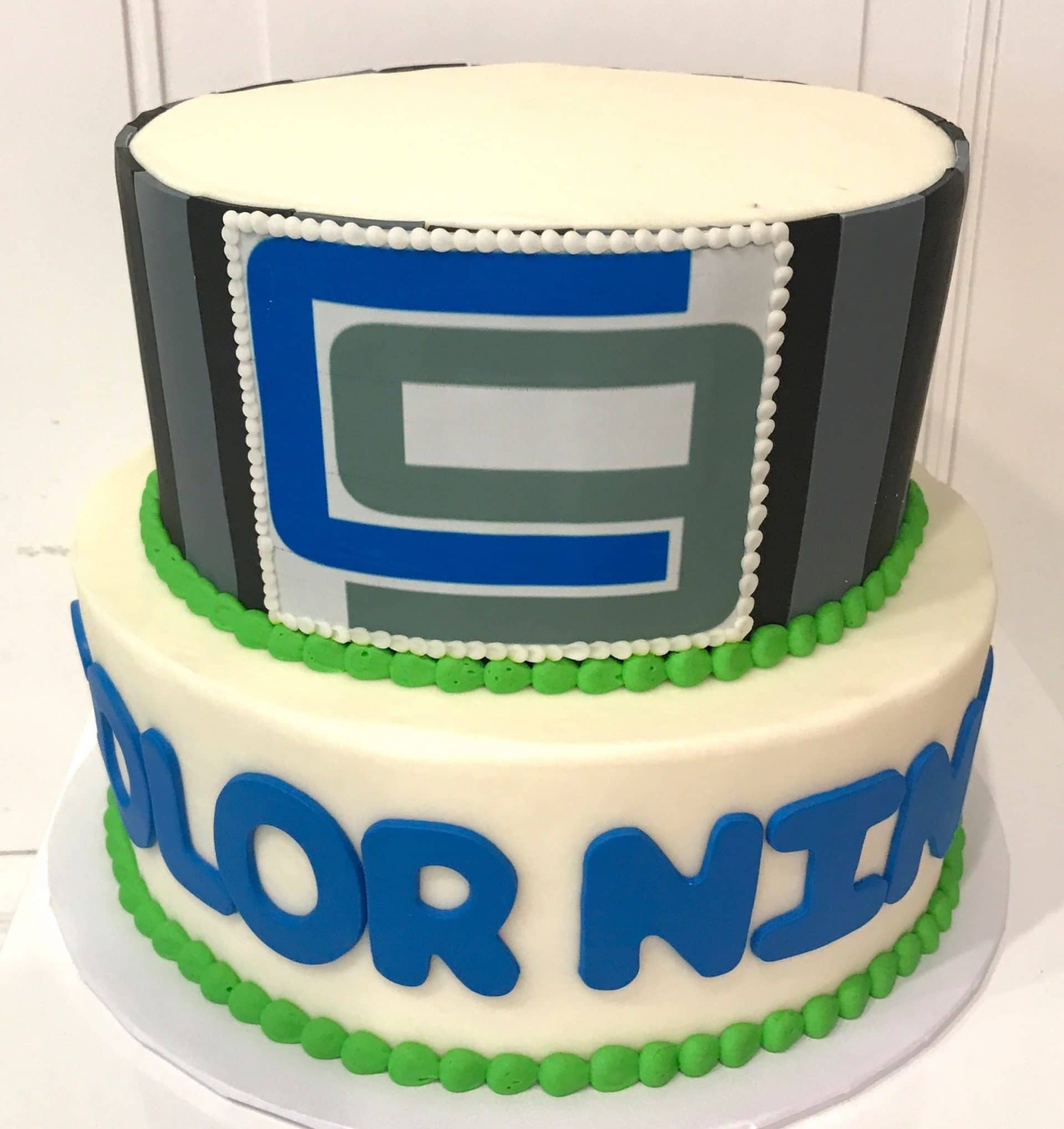 Color Nine Logo Cake