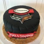 Corvette Tier Grooms Cake