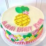 Aloha Baby Shower Cake