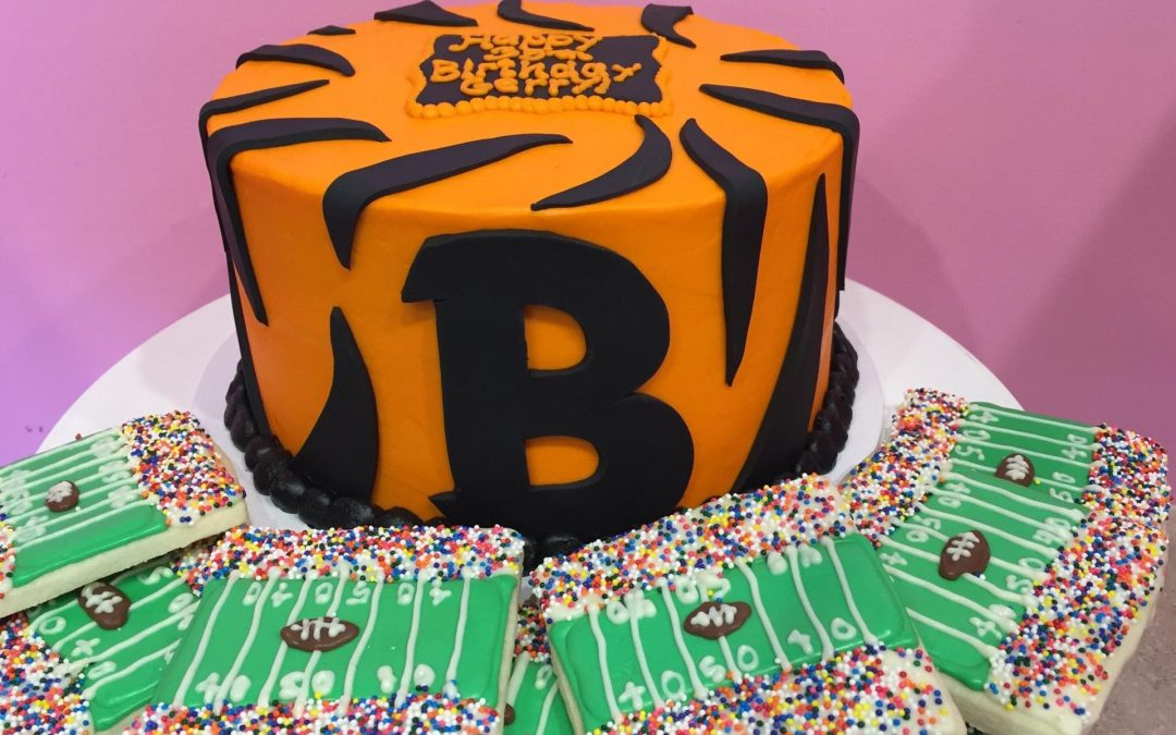 Bengals Game Cupcake Demo