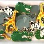 Safari Animal Cookie Platter