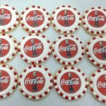 Logo Cookies for Coca Cola