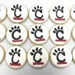 UC Bearcat Logo Cookies
