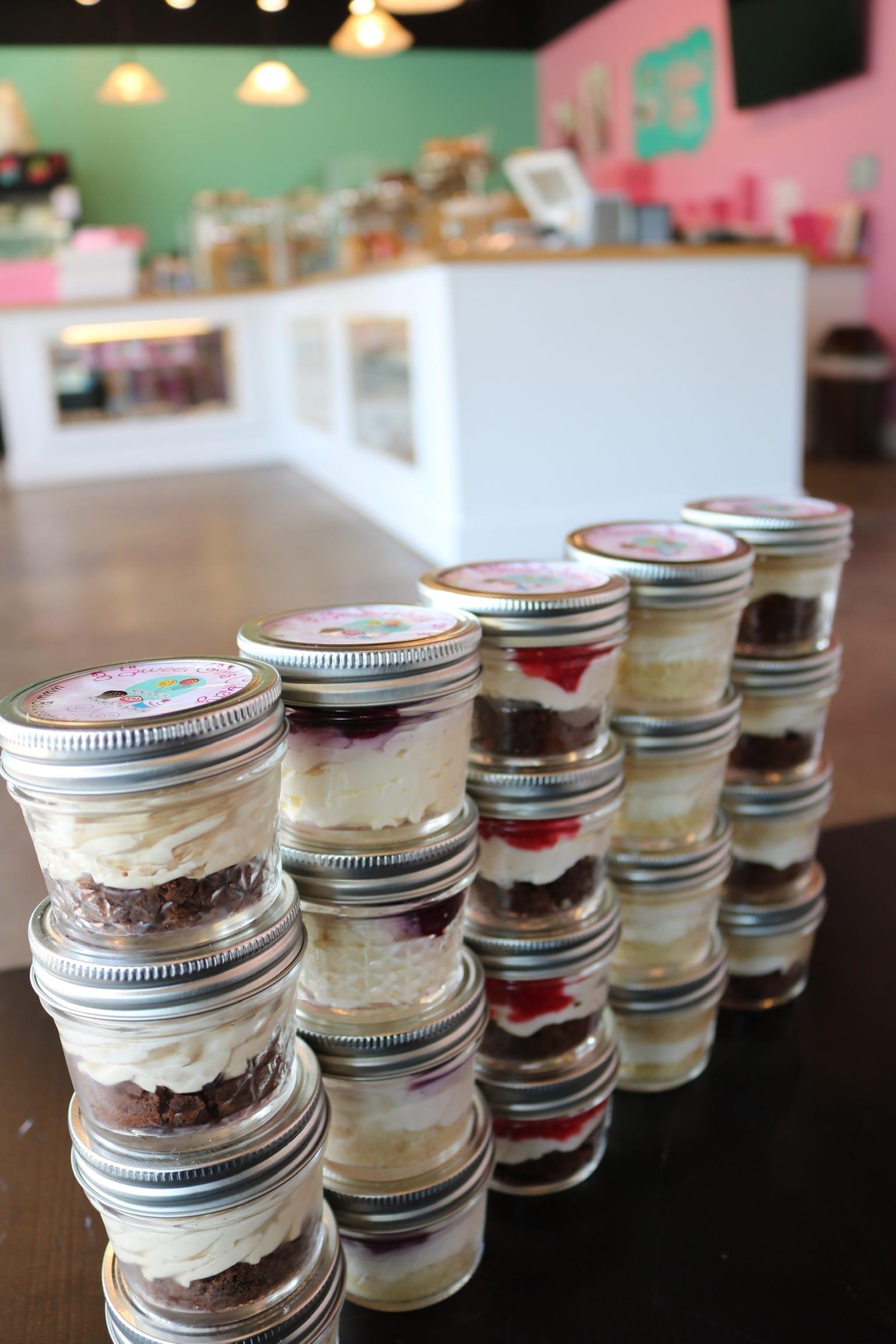 Keto Cheesecake Jars | 3 Sweet Girls Cakery