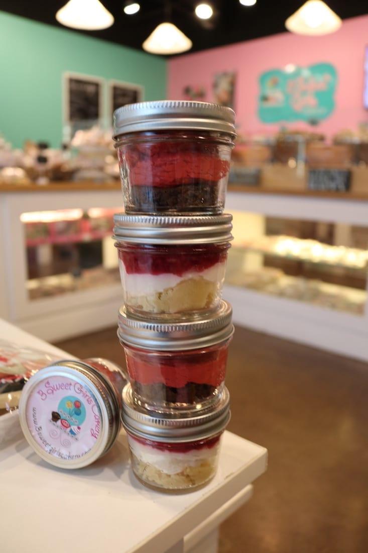 Keto Cheesecake in a Jar | 3 Sweet Girls Cakery