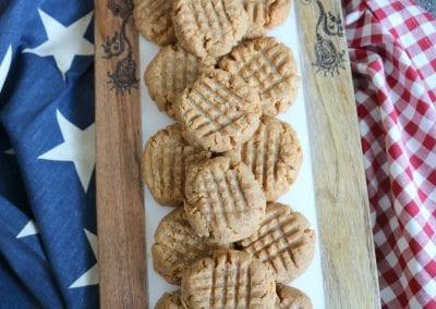 Keto Peanut Butter Cookies | 3 Sweet Girls Cakery