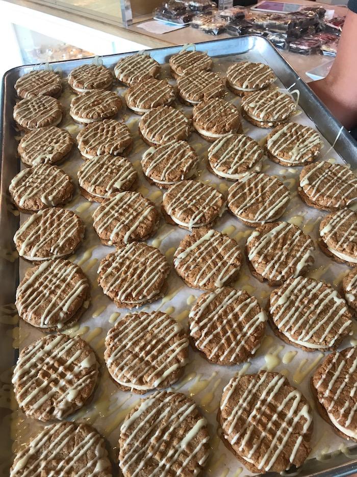Keto Peanut Butter Sandwich Cookies | 3 Sweet Girls Cakery