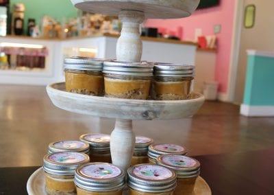 Keto Pumpkin Pie in a Jar | 3 Sweet Girls Cakery