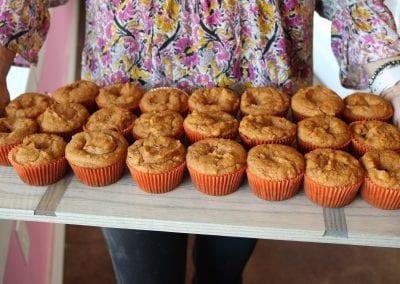 Keto and Gluten Free Pumpkin Spice Cheesecake Muffins | 3 Sweet Girls Cakery