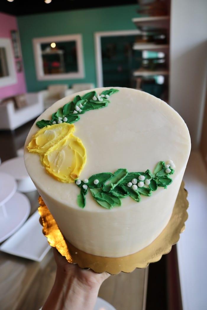 Lemon Cake   3 Sweet Girls Cakery