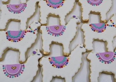 Llama Cookies | 3 Sweet Girls Cakery
