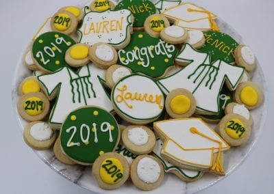 McNick Graduation Cookies | 3 Sweet Girls Cakery