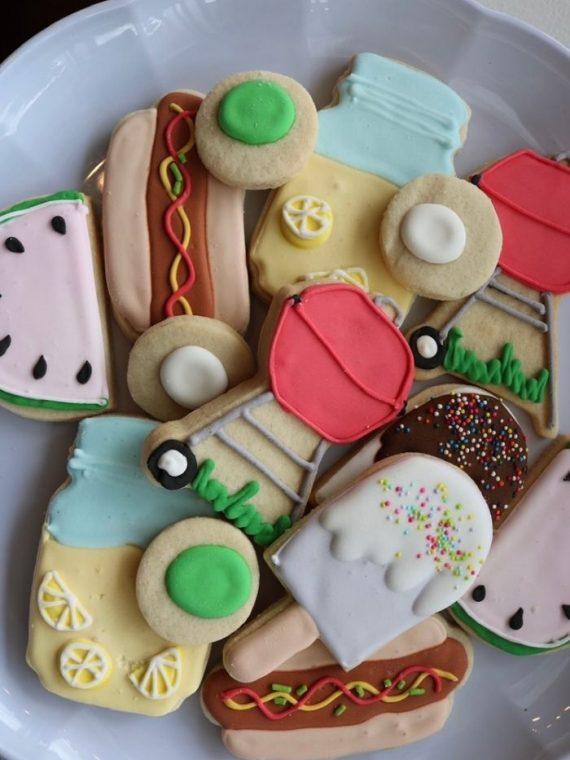 Memorial Day Cookies   3 Sweet Girls Cakery