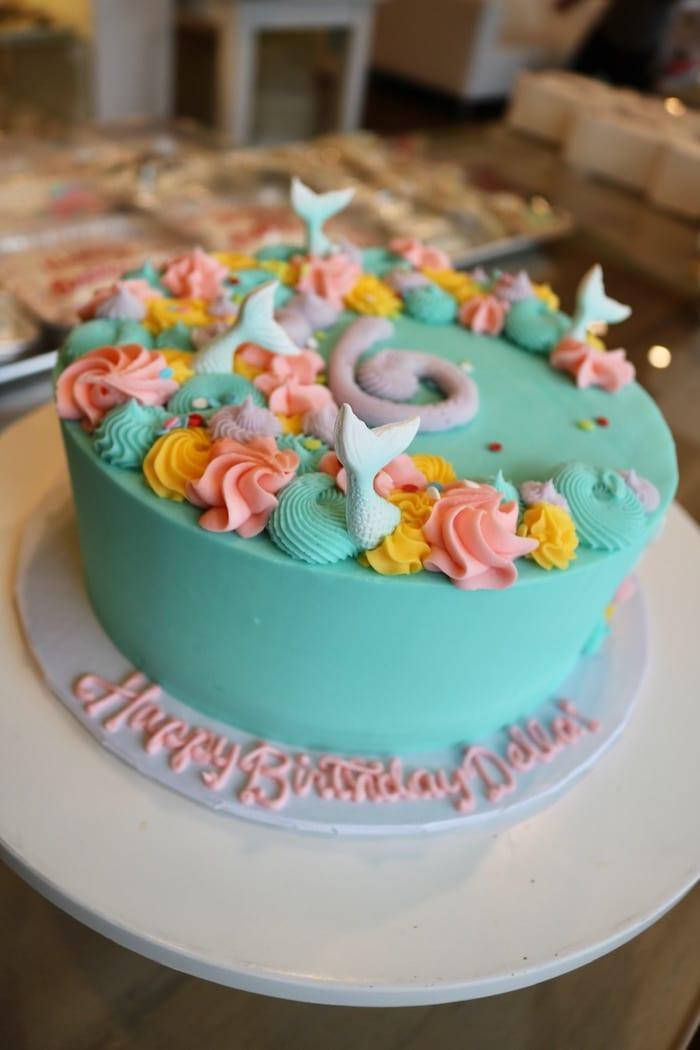 Mermaid Birthday Cake | 3 Sweet Girls Cakery