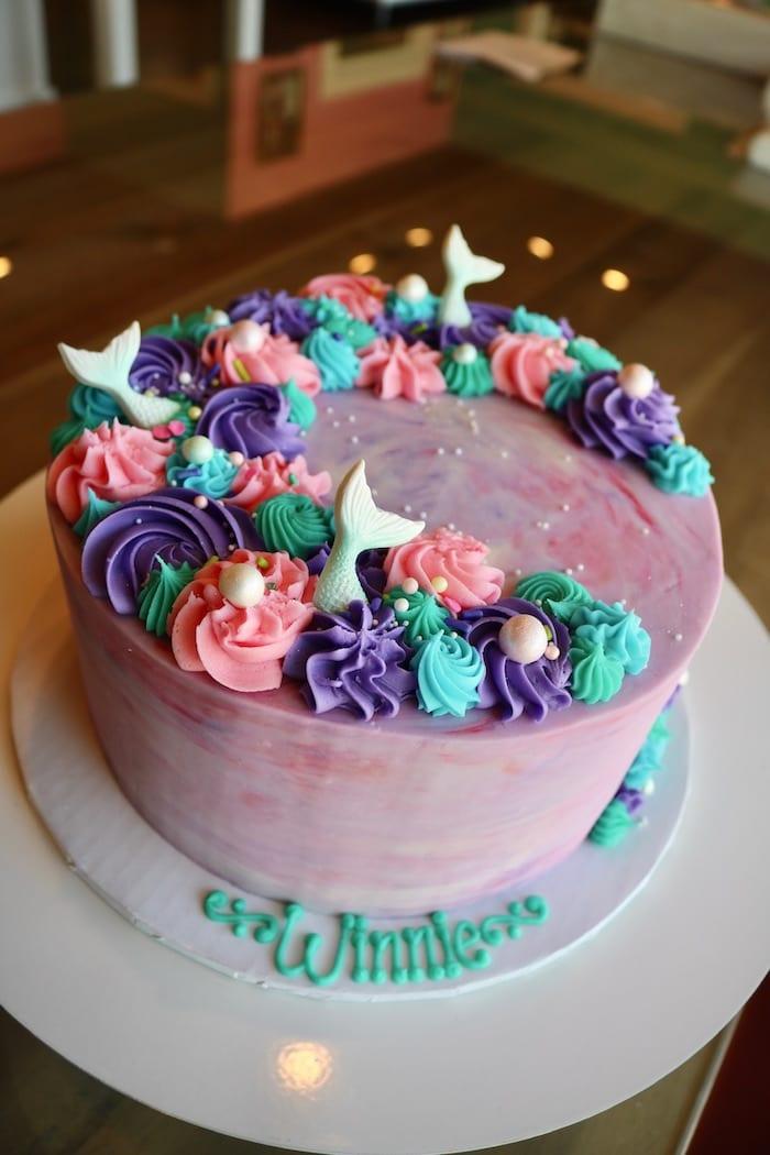 Mermaid Cake | 3 Sweet Girls Cakery