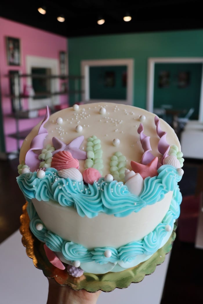 Mermaid Under the Sea Cake | 3 Sweet Girls Cakery