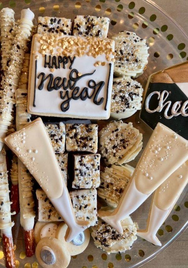 New Year's Eve Platter | 3 Sweet Girls Cakery
