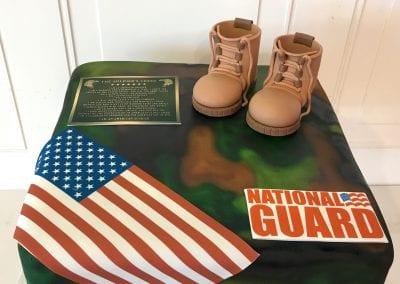 National Guard Cake | 3 Sweet Girls Cakery