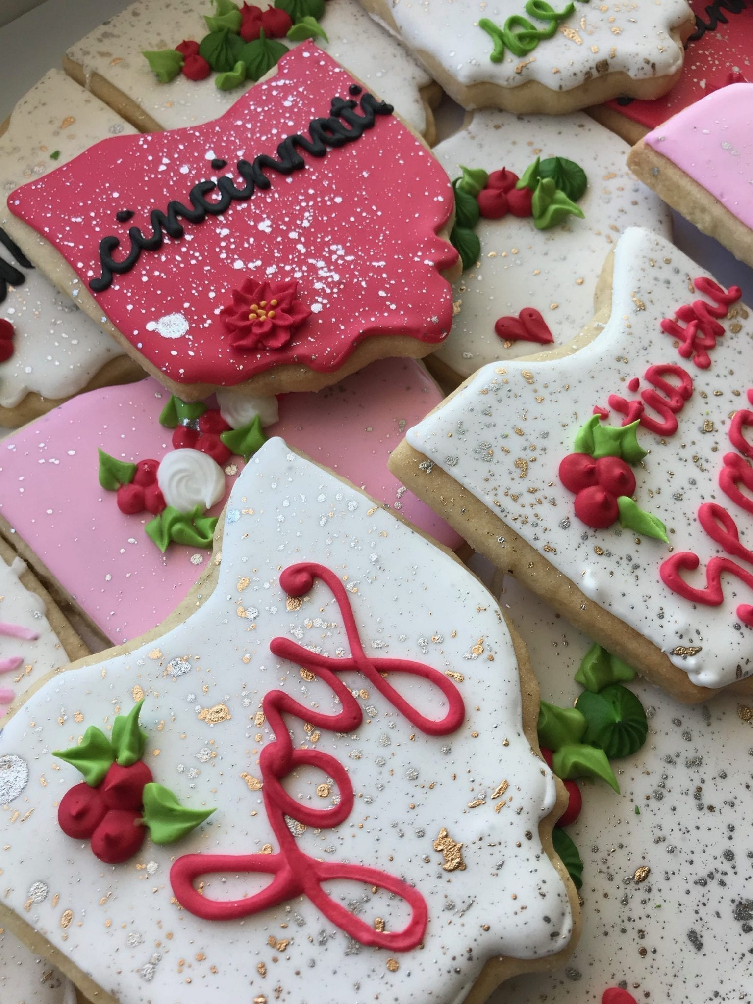 Ohio Christmas Cookies | 3 Sweet Girls Cakery