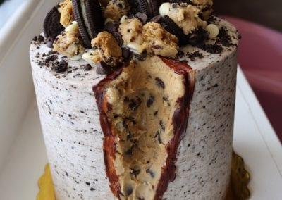 Oreo Chocolate Chip Cookie Geo Cake | 3 Sweet Girls Cakery