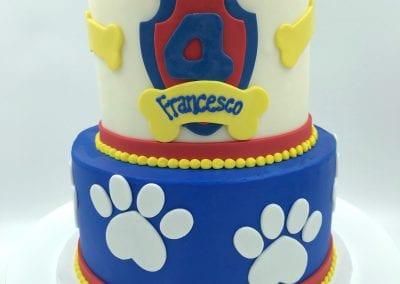 Paw Patrol 2 Tier Birthday Cake | 3 Sweet Girls Cakery