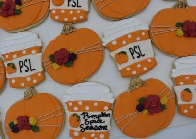 Pumpkin and Pumpkin Spice Latte Cookies |3 Sweet Girls Cakery
