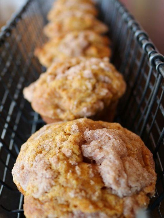 Pumpkin Apple Muffins | 3 Sweet Girls Cakery