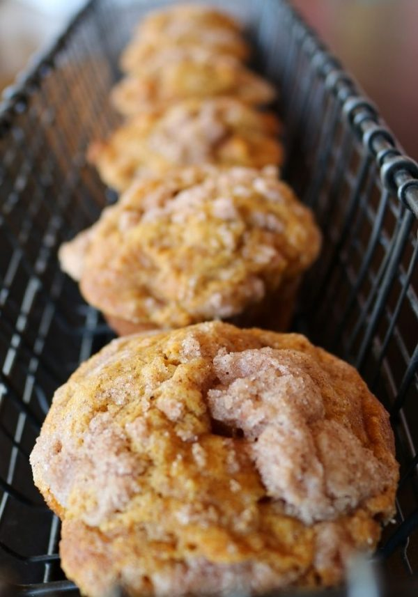 Pumpkin Apple Muffins | 3 Sweet Girls Cakery