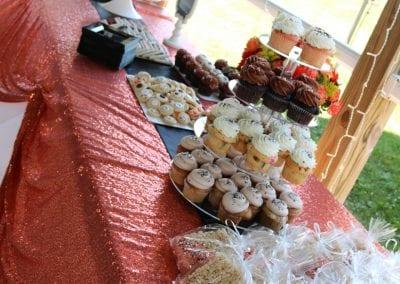 Riten Corporate Dessert Table | 3 Sweet Girls Cakery
