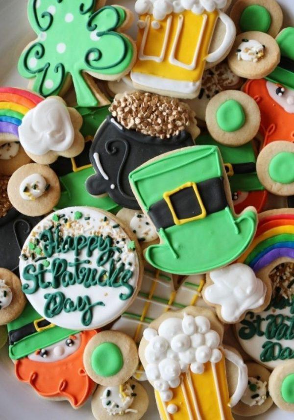St. Patricks Day Cake Cookies | 3 Sweet Girls Cakery