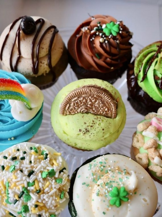 St. Patricks Day Cupcakes | 3 Sweet Girls Cakery