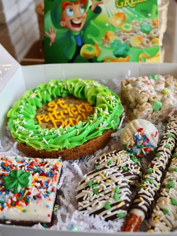 St. Patricks Day Treat Box | 3 Sweet Girls Cakery