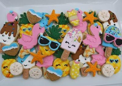 Summer Fun Cookies | 3 Sweet Girls Cakery