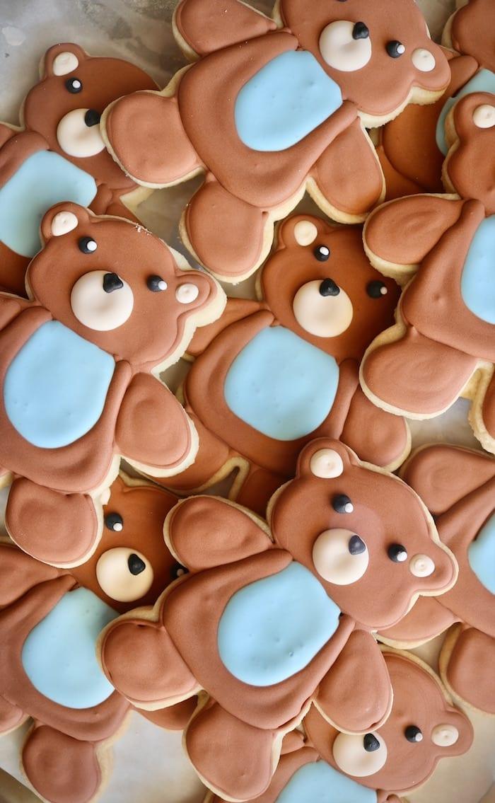 Teddy Bear Cookies | 3 Sweet Girls Cakery