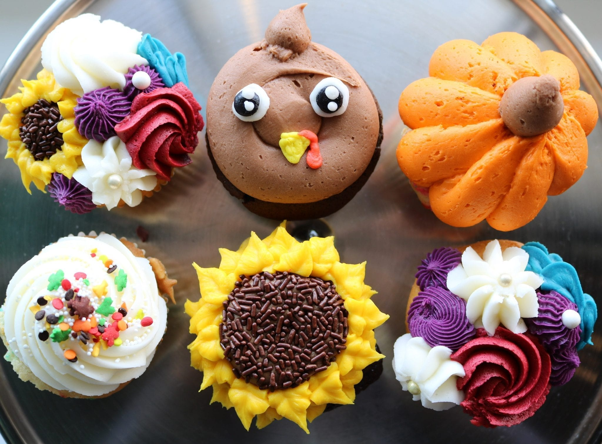 Thanksgiving Cupcakes | 3 Sweet Girls Cakery