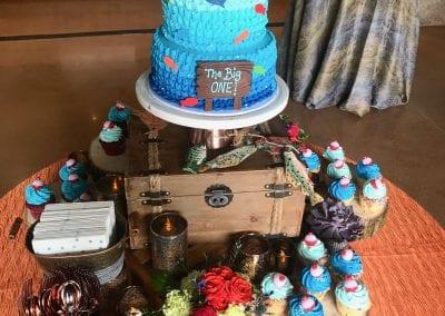 The Big One Fishing Birthday Cake | 3 Sweet Girls Cakery
