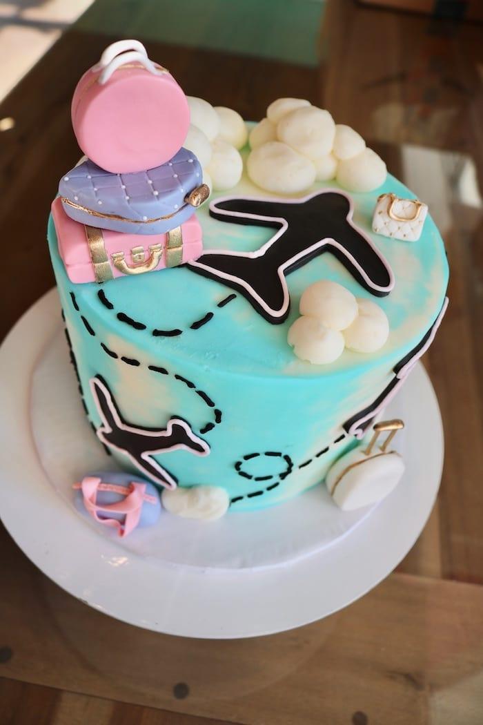 Travel Theme Cake | 3 Sweet Girls Cakery
